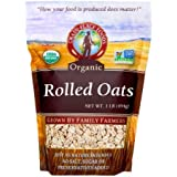 Grain Place Foods Non-GMO Organic Rolled Oats 1lb Bag