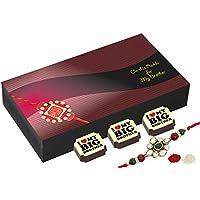 Gifts For Rakhi - 6 Chocolate Gift Box - Rakhi With Chocolates