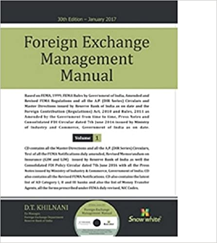 Foreign Exchange Management Manual