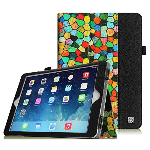 Coque iPad Air Étui - Fintie Folio PU Cuir Housse Protection Cover Haute Qualité Smart Case avec Support Sommeil/Réveil Automatique für iPad Air iPad ...