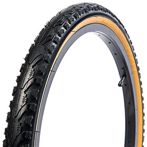Kenda Kwest Commuter/Urban/Hybrid Bicycle Tires, Black/Gumwall, 20-Inch x 1.75