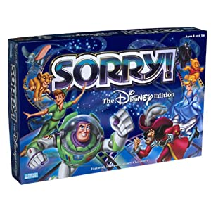 Click to buy Disney Sorry! board game from Amazon!