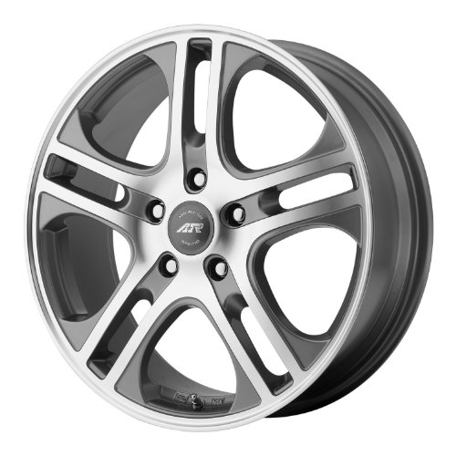 American Racing AXL Dark Silver Wheel with Machined Face (15×6.5″/5x110mm)