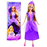 "Mattel Year 2012 Disney Princess Sparkling Princess Series 12 Inch Doll Set - ""Tangled"" Princess RAP"