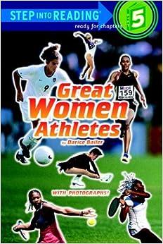 Amazon.com: Great Women Athletes (Step-Into-Reading, Step