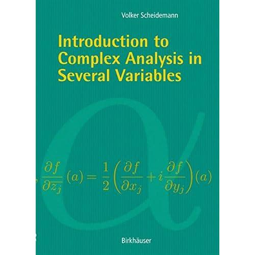 Introduction to Complex Analysis in Serveral Variables Scheidemann, Volker