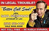 Saul Goodman Fun Fake ID License
