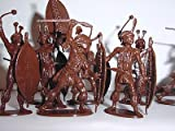 The Zulu War - Zulus At Ulundi Plastic Army Men: 16 piece set of 54mm Figures - 1:32 Scale