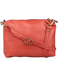 Speed X Fashion Women's Sling Bag (Peach)