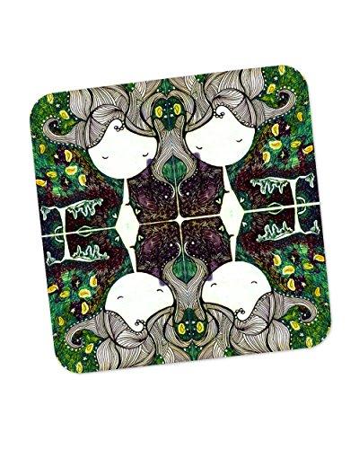 PosterGuy The Dreamer Girl Illustration Coaster