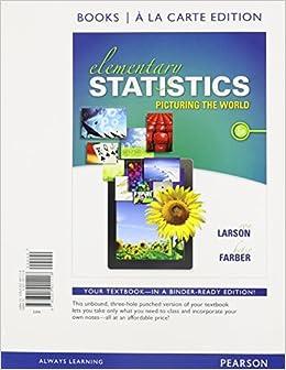 Amazon.com: Elementary Statistics: Picturing the World