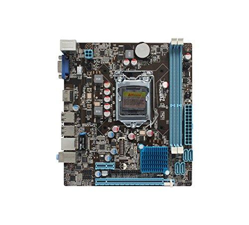 KharidiyeBasic Intel Core I5 Processor 2400 3.10 GHz + Zebronics H61 MotherBoard With FAN And Free USB Optical... - B06X9ZJFVN
