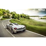 Wall Poster TV Show Top Gear Pagani Huayra ON FINE ART PAPER HD QUALITY WALLPAPER POSTER