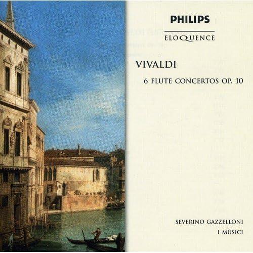 6 Flute Concertos Op.10 Audio CD