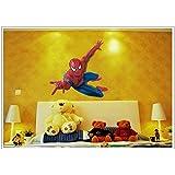 Decals Arts Spider Man 3rd Generation Wall Sticker Window Decor Stickers