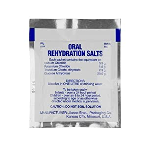 Amazon.com: Oral Rehydration Salts, Pack of 125: Health