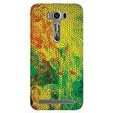 Kaira Brand Designer Hard Back Case Cover For Asus Zenfone 2 Laser (Snake) - 5.0 Inch
