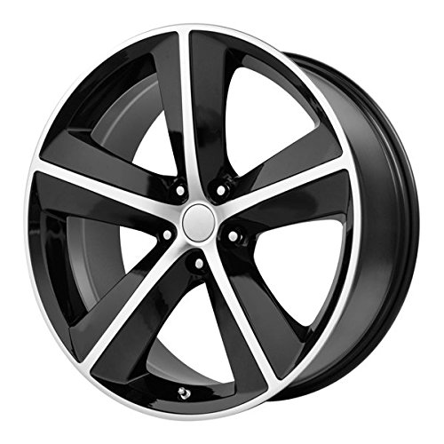 OE Performance 123 20 Black Wheel / Rim 5×115 with a 20mm Offset and a 71.5 Hub Bore. Partnumber 123B-299020