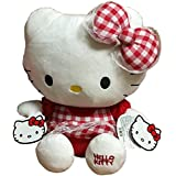 Hello Kitty In Dress Plush, Red (35cm)