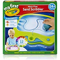 My First Crayola Mess-Free Sand Scribbler Art Activity No Mess Perfect Gift For Preschoolers