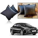 Car Vastra Cushion Pillow Set Black Color For Car & Home For - Fiat Linea 2015