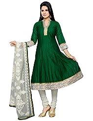 Roopali Creations Women's Chanderi Silk Salwar Suit Set - B013SVNEN2
