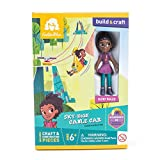GoldieBlox Ruby's Sky-High Cable Car - Improve Spatial Skills and Confidence in Problem Solving While Having Fun! - Includes Over 30 Pieces - Ages 6 and Up