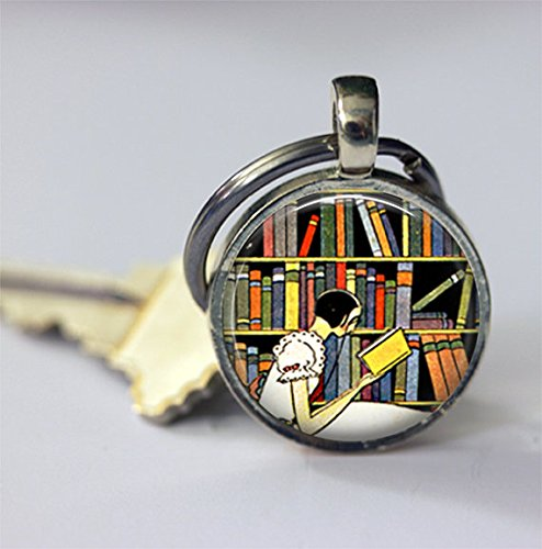 Keychain for Librarians/Book Lovers/Readers