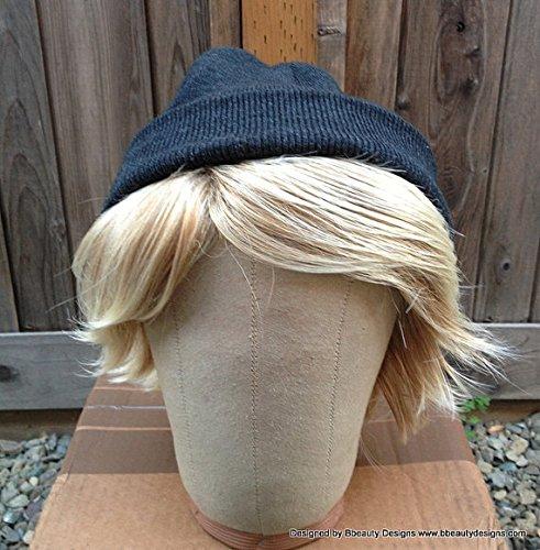 Kristoff Wig frozen snow blonde costume wig + hat