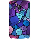 For Samsung Galaxy S3 Mini I8190 :: Samsung I8190 Galaxy S III Mini :: Samsung I8190N Galaxy S III Mini Cubes Art ( Cubes Art, Cube Background, Cube Art ) Printed Designer Back Case Cover By FashionCops