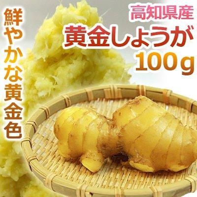 坂田信夫商店 高知県産 黄金生姜(こがねしょうが) 100g