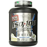 Dymatize Nutrition ISO 100 100% Whey Protein Isolate 5 Lbs Birthday Cake