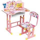 Baby Station Study Table And Chair Set For Kids - Computer Table And Chair Set, Buy Foldable Study Tables (Princess)