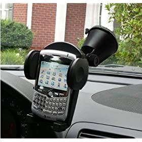 Suction Cup Car Windshield and Vent Mount for PDA, Smart Phone, iPod, iPhone, Blackberry, and treo, - Universal fits everything from 50mm. to 90mm (1.9 to 3.5 inches)