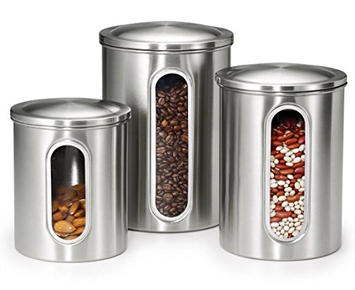 stainless steel storage containers for kitchen buy pigeon stainless steel storage container set 9420