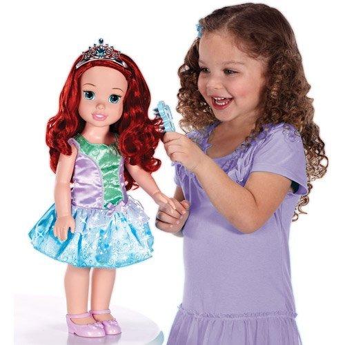 "Jakks Disney Princess Ariel 20"" Electronic Talking And Light-Up Doll"