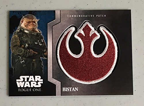 MultiSport MultiSport 2016 Topps Star Wars Rogue One Commemorative Patch #11 Bistan NM Near Mint