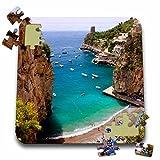 Danita Delimont - Italy - Rocky coastline of Amalfi, Praiano, Campania, Italy - EU16 BJN0048 - Brian Jannsen - 10x10 Inch Puzzle (pzl_137546_2)