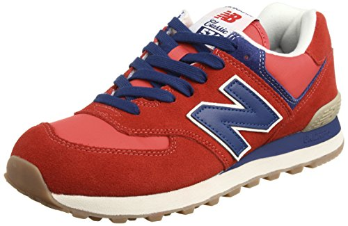 [ニューバランス] new balance NB ML574 NB ML574 VRB (RED/BLUE/25)