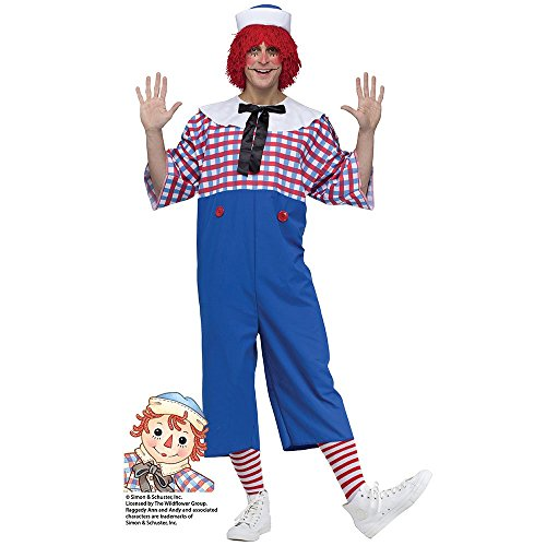 Raggedy Andy Mens Costume