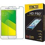 Taslar(TM) Premium Premium Arc Edge Tempered Glass Scratch Screen Protector Guard Card For OPPO A37