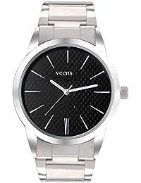 Veens Black Dial Mens Wrist Watch DW1150