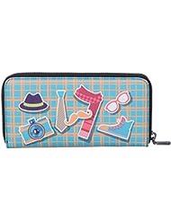 Zoe New York Women's Wallet (Multi-Coloured)