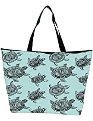 Snoogg Seamless Pattern With Turtles Seamless Pattern Can Be Used For Wallpaper Waterproof Bag Made Of High Strength...