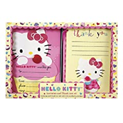 Hello Kitty Invitations and Thank You Notes