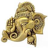Redbag Lord Blessing Ganesha Brass Wall Plaque