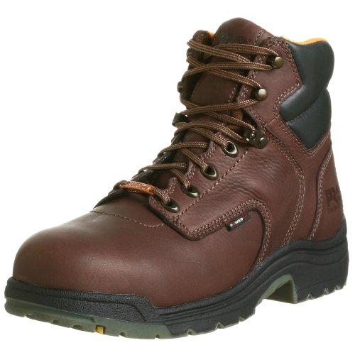 "Timberland PRO Men's 26078 Titan 6"" Waterproof Safety-Toe Work Boot,Dark Mocha,12 M"