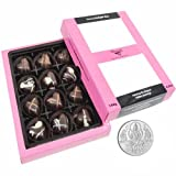 Chocholik Belgium Chocolate Gifts - Sweet And Romantic Chocolate Hearts With 5gm Pure Silver Coin - Diwali Gifts