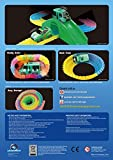 Mindscope Twister Trax Neon Glow in the Dark Track & Accessory Set w/ Bridge & Tunnel