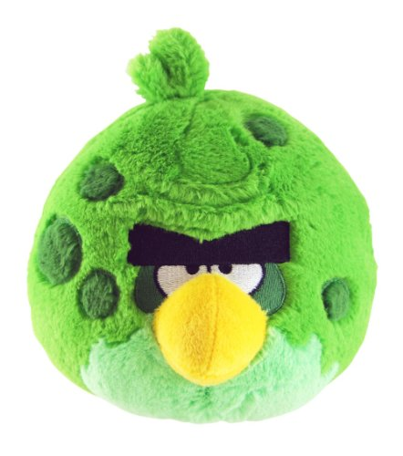 Angry Birds Space 8-Inch Green Bird With Sound
